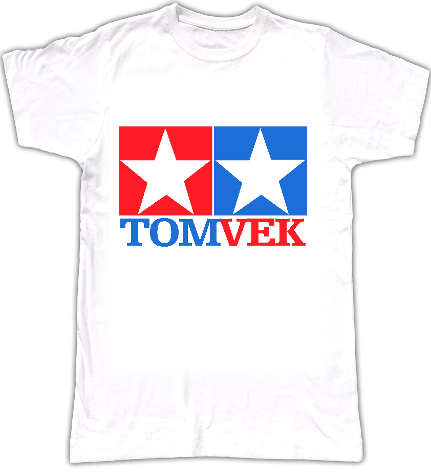 Tom Vek TAMIYA logo T-shirt