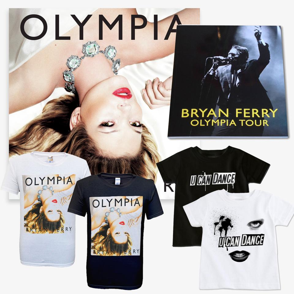Olympia CD + Shirt + Programme Bundle