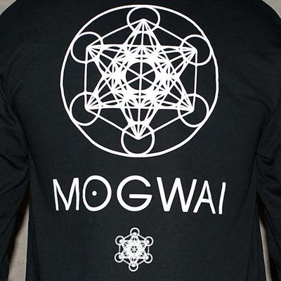 Mogwai x Focus Metatron's Cube Long Sleeve T-shirt - Black
