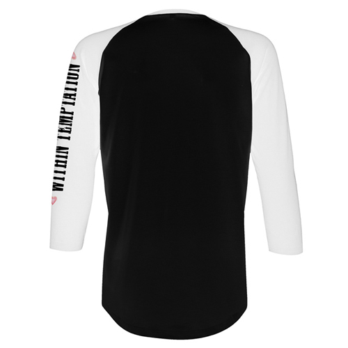 Black Xmas Event (Black / White Raglan)