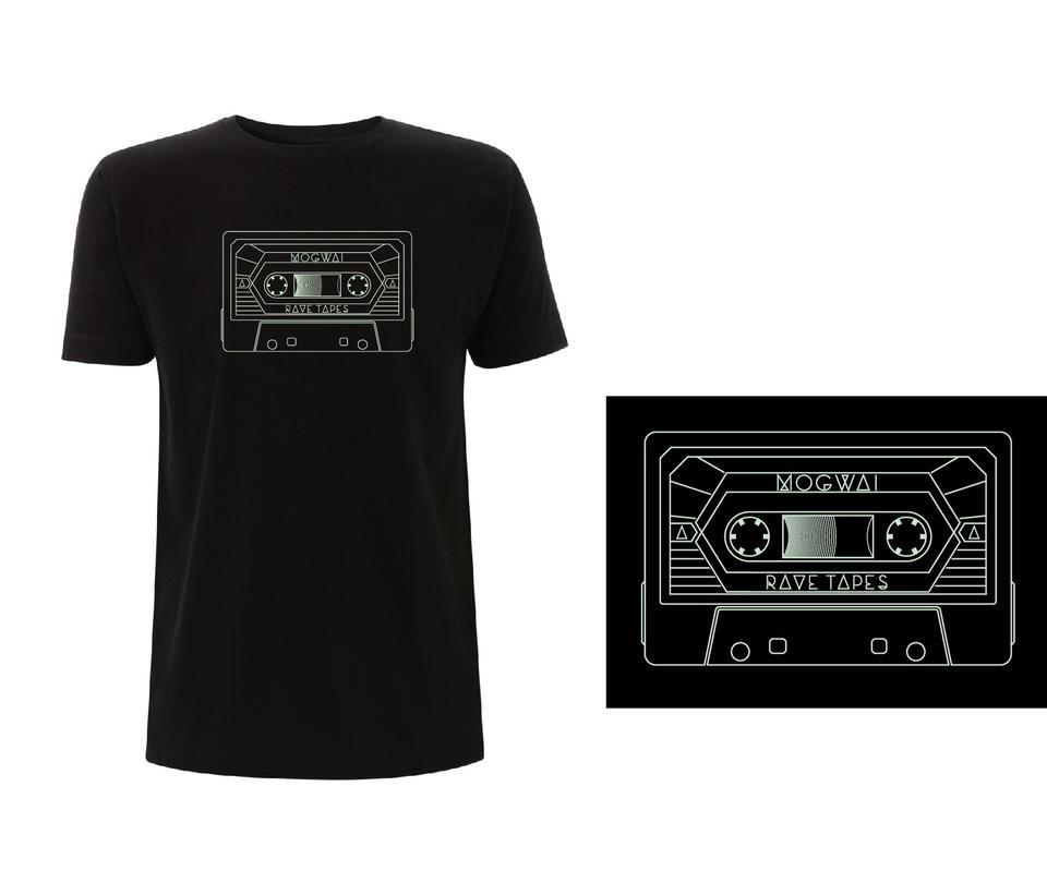 Mogwai Cassette Tshirt in Black