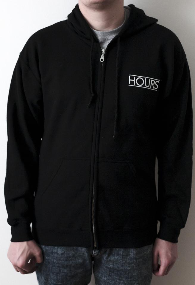'Hours' Zip-Up Hoodie