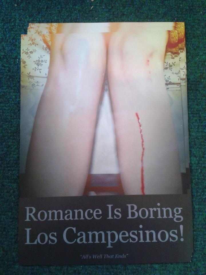 Los Campesinos 'Romance Is Boring' Poster