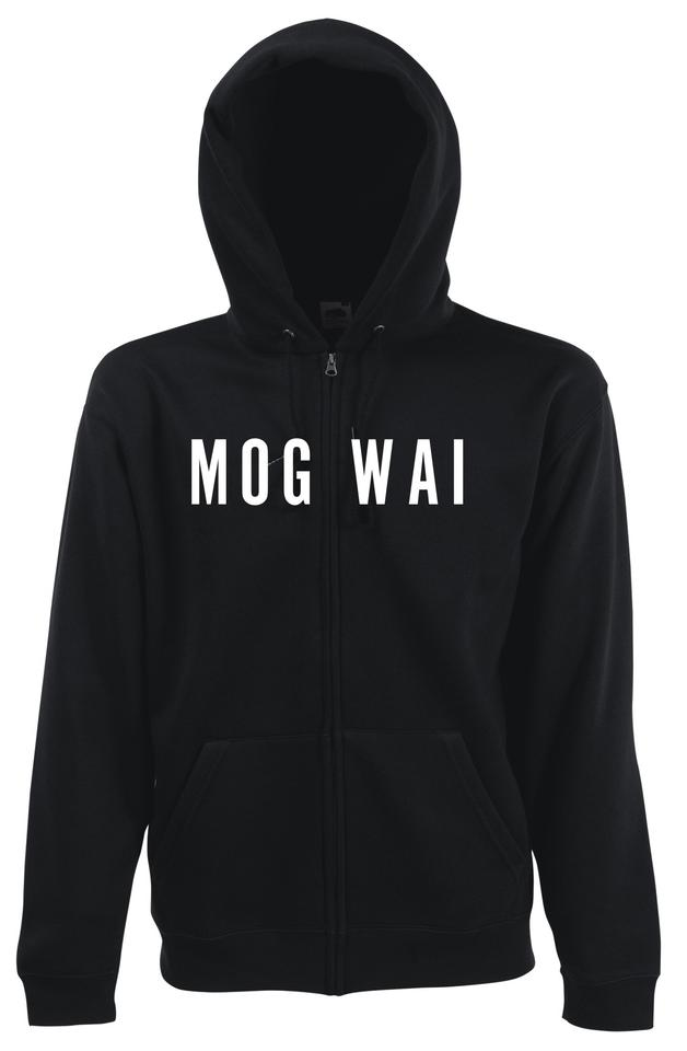 Mogwai B&W Zip Hoodie