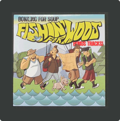 "Fishin For Woos (Bonus Tracks) 7"""