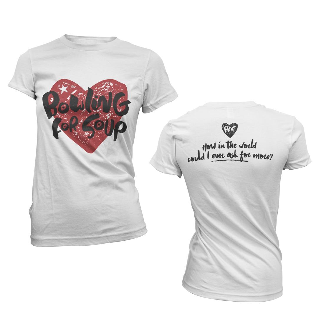Heart – Girls Tee