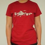 Ladies Squirrel Band T-Shirt
