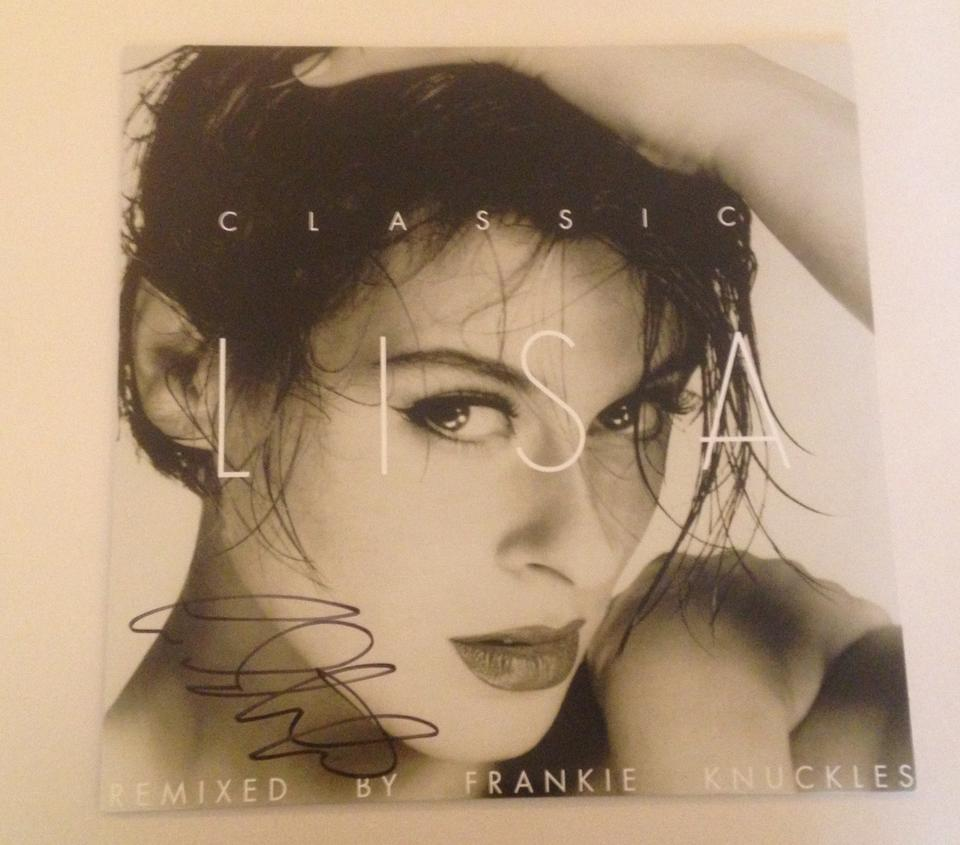 "Very limited edition of ""Change""  12"" Vinyl 'Classic Lisa' (Signed) Frankie Knuckles Remixes"