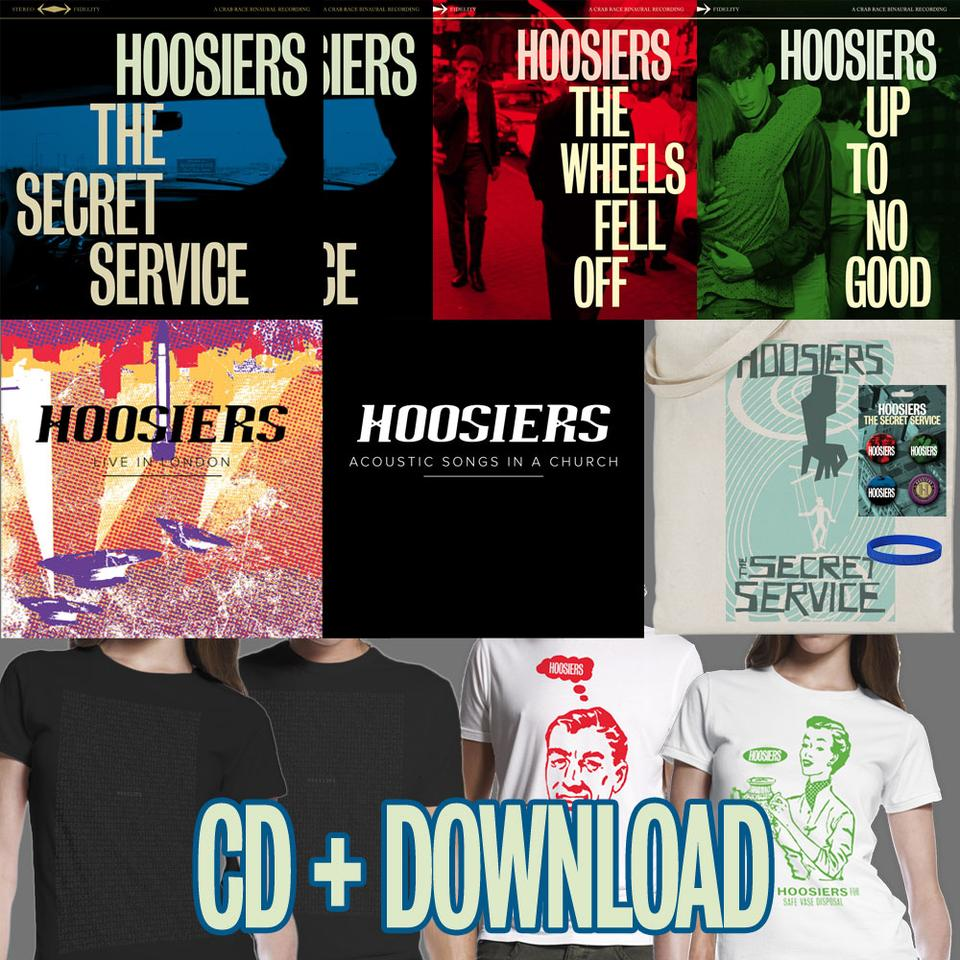 The Secret Service CD + Merch Bundle