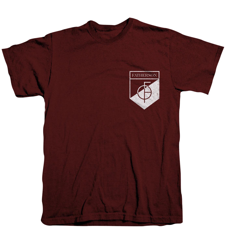 Maroon Emblem T-Shirt