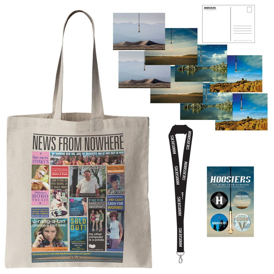 NFNW Tote, Postcards, Lanyard, Badges