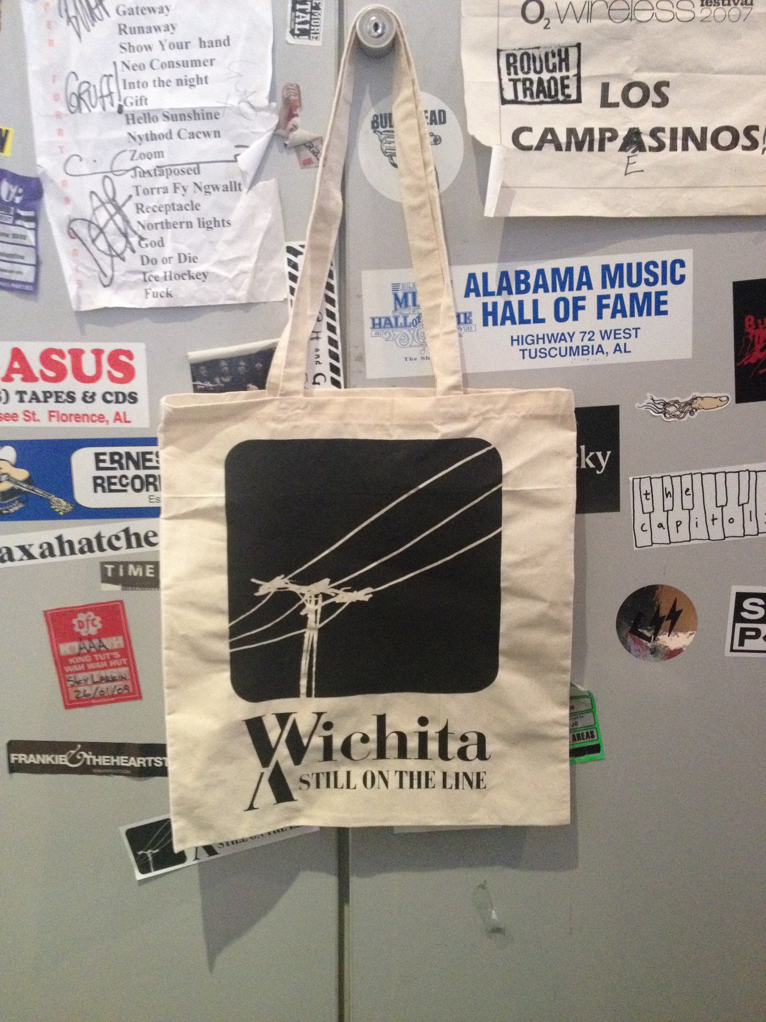 Wichita 15th Anniversary Tote Bag