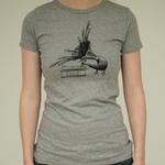 Ladies Peacock T-Shirt