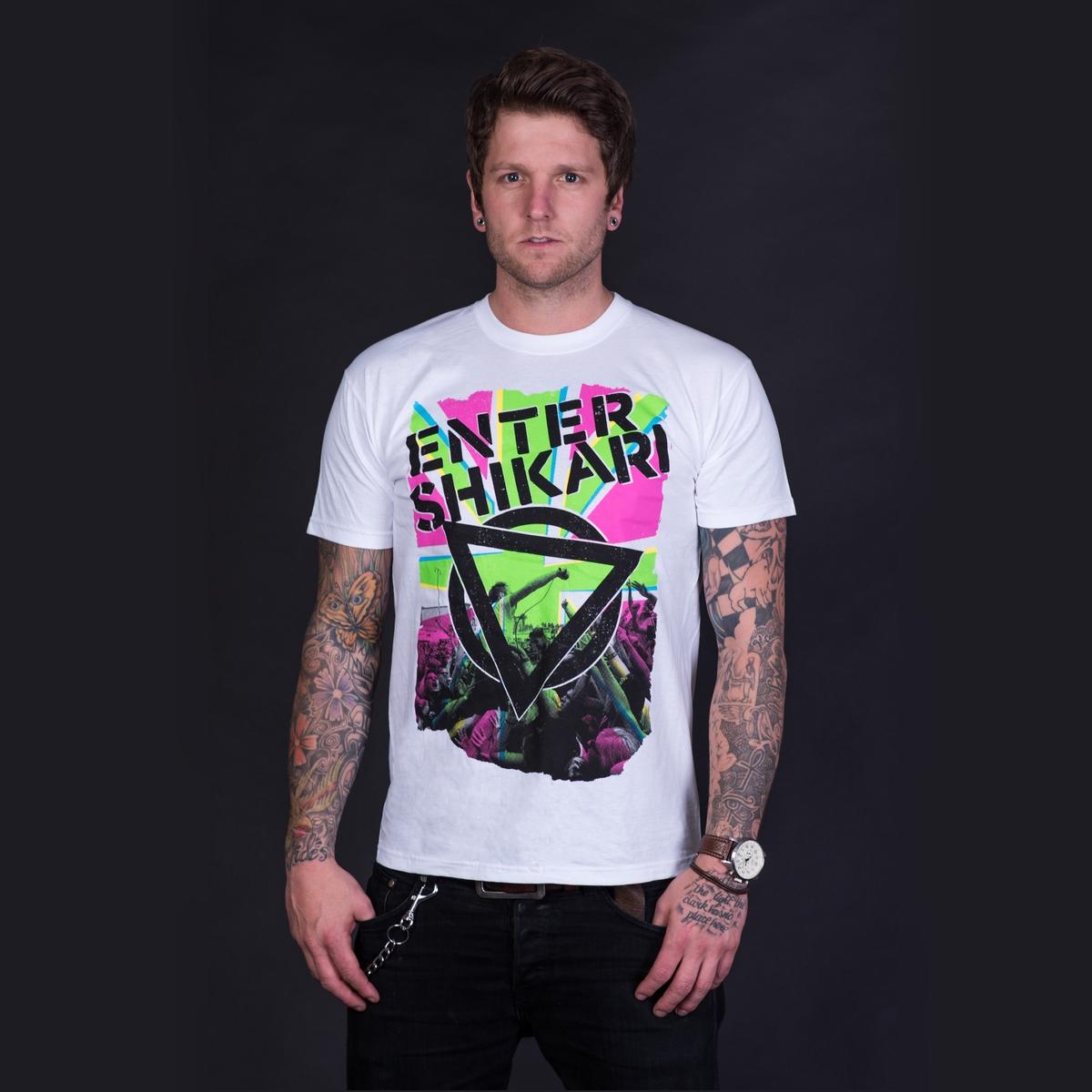 Neon Union Jack T Shirt