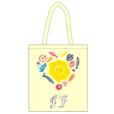 JF Heart Tote bag