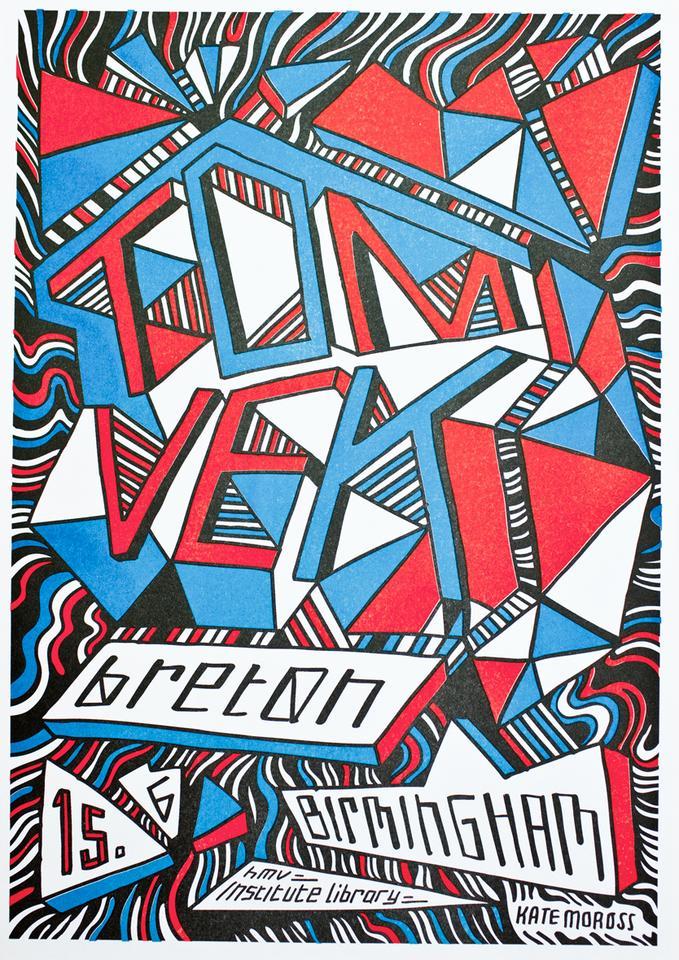 Live Poster - Kate Moross - Birmingham (A3)