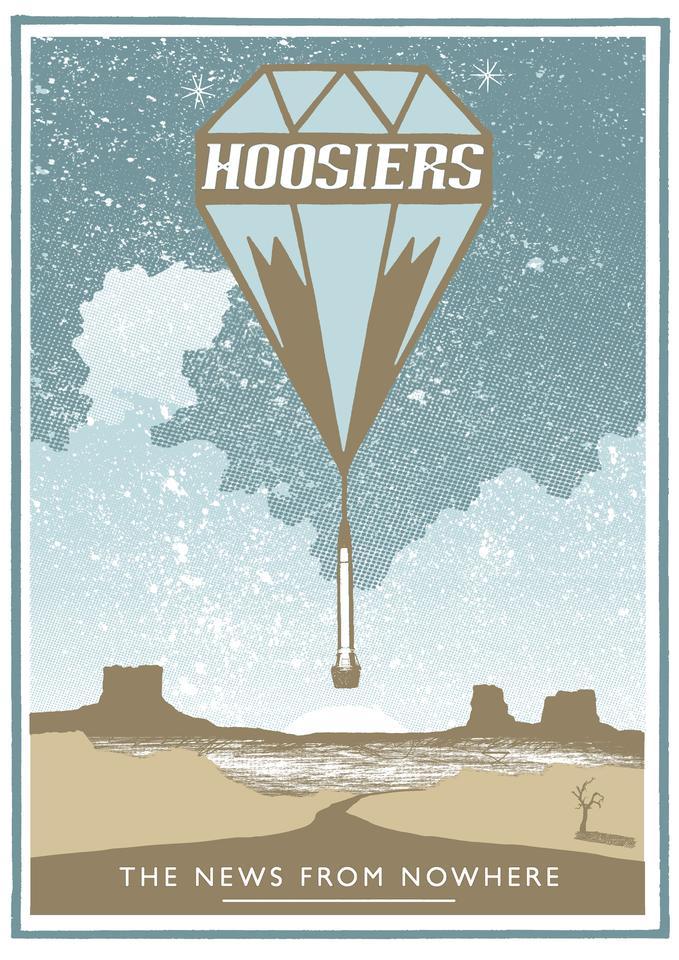 NFNW Desert Hand-printed Poster