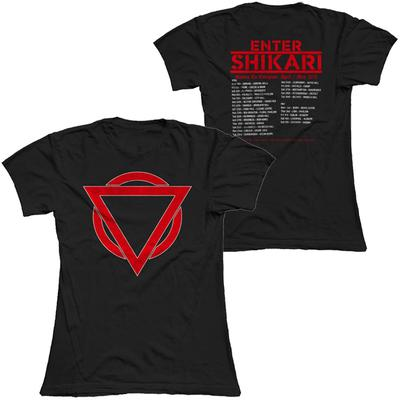 New Logo (Red & White on Black) T-Shirt