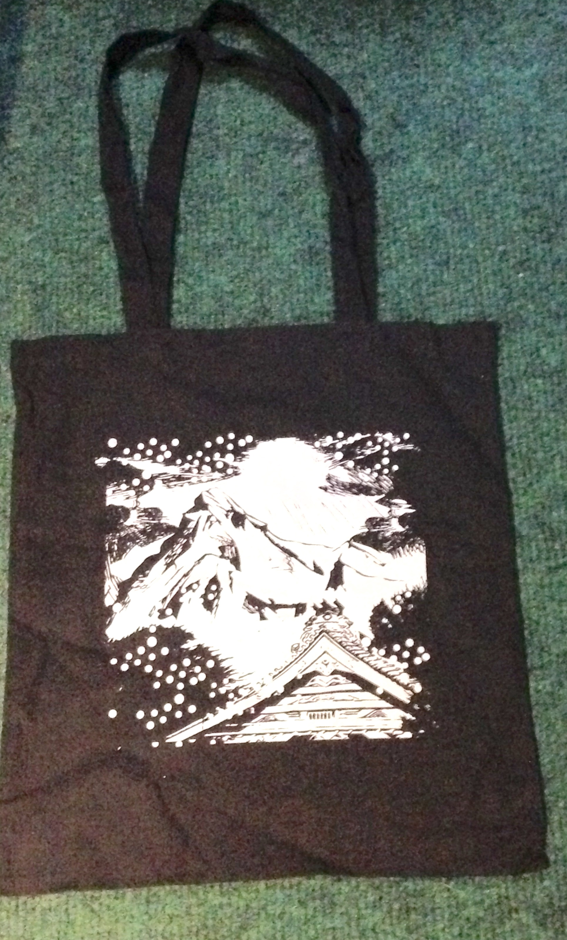 Gold Panda Tote Bag
