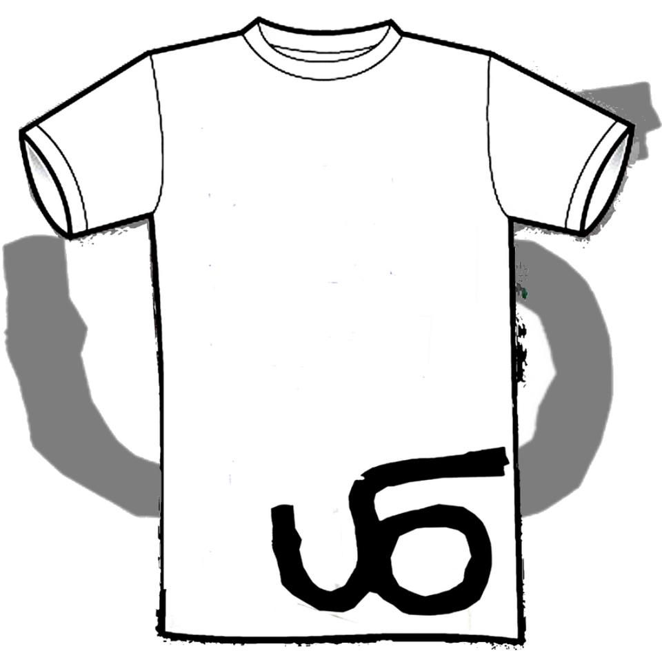 'UFO Logo' White T Shirt