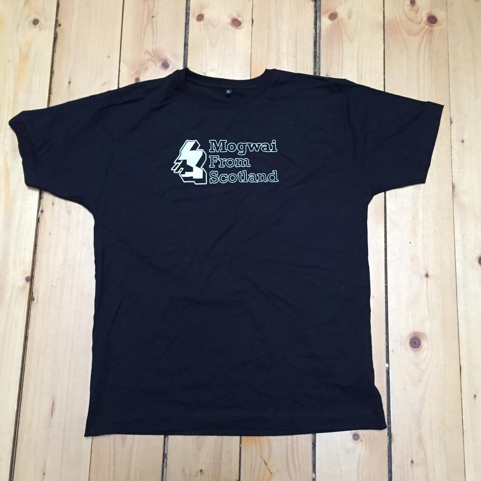 Mogwai From Scotland Black Tshirt