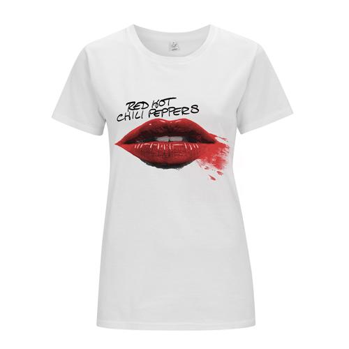 Lipstick – Girls White tee