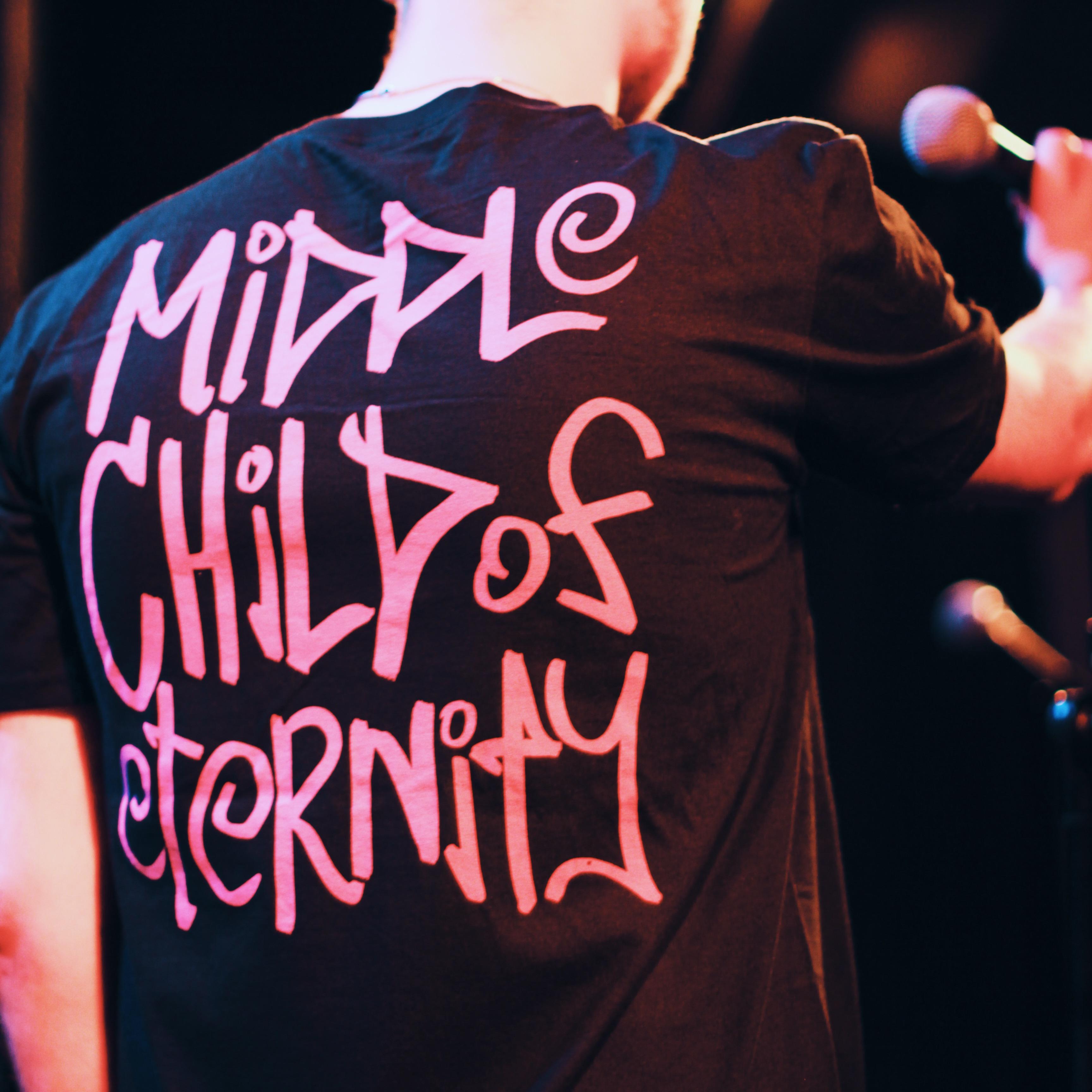 Middle Child T-Shirt - Black