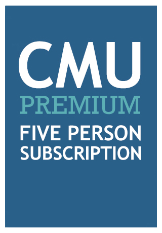 CMU PREMIUM (Five Person One Year Subscription)