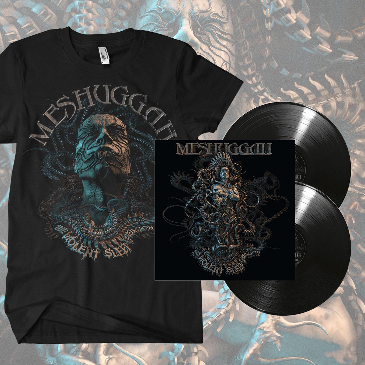 Black Vinyl and 'Head' T-shirt Bundle