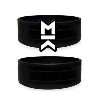Asymmetry Wristband - White