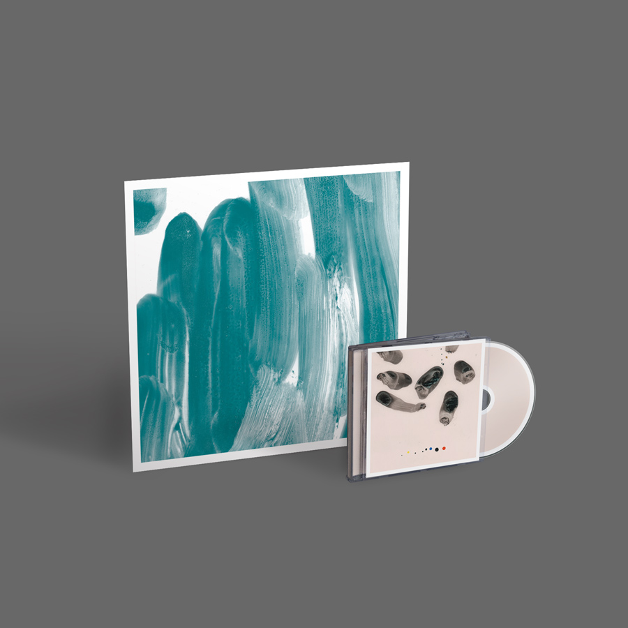 Impressions - CD and Limited Edition Screen Print bundle plus free download of 'Meditations On Loss'  and 'Day by Day'