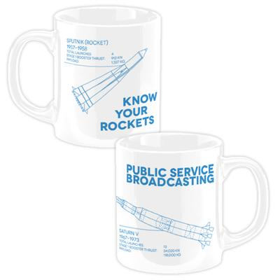 PSB 'Know Your Rockets' Mug